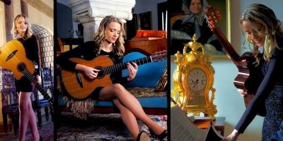 na fotke je fingerstyle gitaristka Michaela Regecová - Stella Prouction