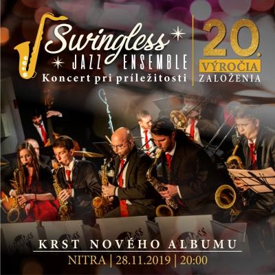 20. výročie Swingless Jazz Ensemble